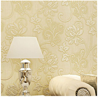 53cmwidth*100cmlength  2014 New TOP Sale Nonwoven wallpaper ultra thick stereo 3D Bedroom Living room TV background wallpaper