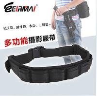 Adjustable Camera Waist Belt Sling Hang Lens Bag Case Pouch Tripod Holder Strap