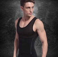 Men's abdomen slimming  body underwear corset   breathable gauze waist and abdomen underwear Less beer belly free shipping