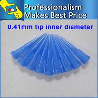 22G Plastic Tapered Pinhead Glue Liquid Tips Dispenser Needles 100PCS free shipping