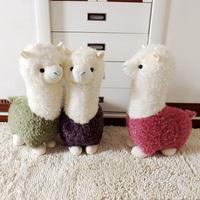 Hot Sale Super Cute  Plush Toy Kawaii Kids Brinquedos Mud Horse /Alpaca Dolls Soft Valentine's Day Gift and Christmas Gift