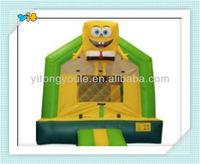 2014 hot-sale inflatable Cartoon image bouncer castle for kids