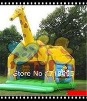 giraffe inflatable bounce home