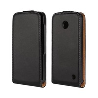Vertical PU Leather case For Nokia Lumia 630 1pcs Free Shipping