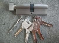 Pure copper thickening single open door lock core is 70 mm(35mm+35mm) for 45mm thick door