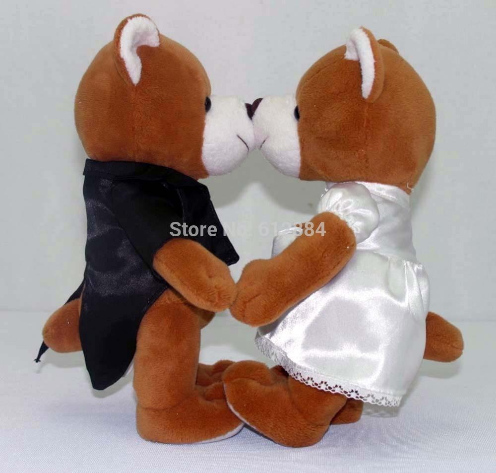 High Quality Soft Plush Valentine Bear for Wedding favor and Christmas Gift(China (Mainland))