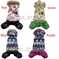 2014 NEW!  Dog Cat Winter Coat Clothes, Pet Clothing Pet Product Parkars Free Shipping