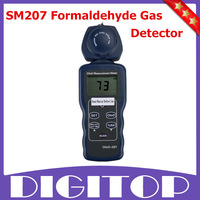 SM207 Portable Formaldehyde Tester Gas Detector Meter Indoor Air Quality Tester