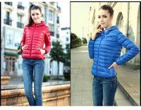 New  Fashion Parkas Winter Coat Zipper Women Jacket Slim Short Girl Warm Overcoat Female Winter Clothes Free Shipping