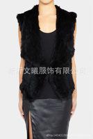 Aliexpress eaby explosion models encryption back Houfang rabbit imitation fur vest vest artificial wool vest