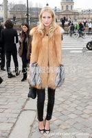 Aliexpress big code winter artificial wool vest imitation fur vest burst shall vest