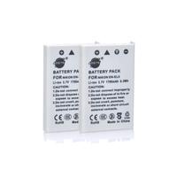 2PCS DSTE EN-EL5 Rechargeable Battery compatible for Nikon Coolpix P80, P90, P100, P500, P510, P520, P530, P5000, P5100, P6000