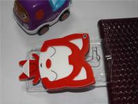 Luxury Handmade 3D cartoon hello kitty ,ali the fox, rabbit with mirror cover case for Sony Xperia neo L MT25i