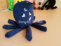 Free Shipping 2pcs/lot Minecraft Toy Dolls Plush Baby Squid Toys Brand Minecraft Creeper Children Doll Christmas Gift