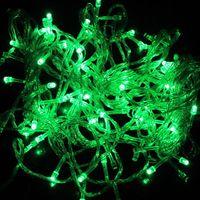 5pcs/lot 100pcs LED 10M Green LED String Fairy Lights Christmas Wedding Garden Party Lamp B10011