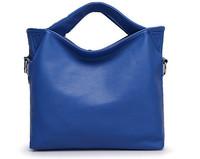 2014 women handbag fashion shoulder bag pu leather women casual handbag free shipping
