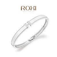 Wholesale ROXI Fashion Accessorie CZ Diamond Clear Austria Crystal with SWA Element Charming H Pattern Bracelet for Women