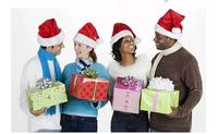2014 New Year 10pcs Wholesale Soft Christmas Cap Adult Christmas Hats Santa hat Christmas Product shop