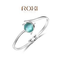 Wholesale ROXI Fashion Accessorie CZ Diamond Clear Austria Crystal with SWA Element Charming Fox Opal Bracelet for Women
