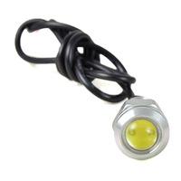 1.5W Eagle Eye Warm/Cool White LED Car Daytime Running Light & Fog Light Turning Light Tail Light DC 12V - Sliver