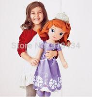 50cm&70cm SOFIA plush toy doll Princess Sofia Princess Sofia first plush toy doll soft plush toy,Best gift for child,free ship