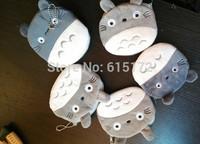 12pcs New Female Wallet Kawaii Cute With Zipper For Children Cartoon Bag Change Plush My Neighbor Totoro Coin Purse Pouch bolsa