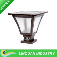 3W solar pillar Lamp/LED Solar Garden Light /Outdoor Garden Landscape Decoration Lamp