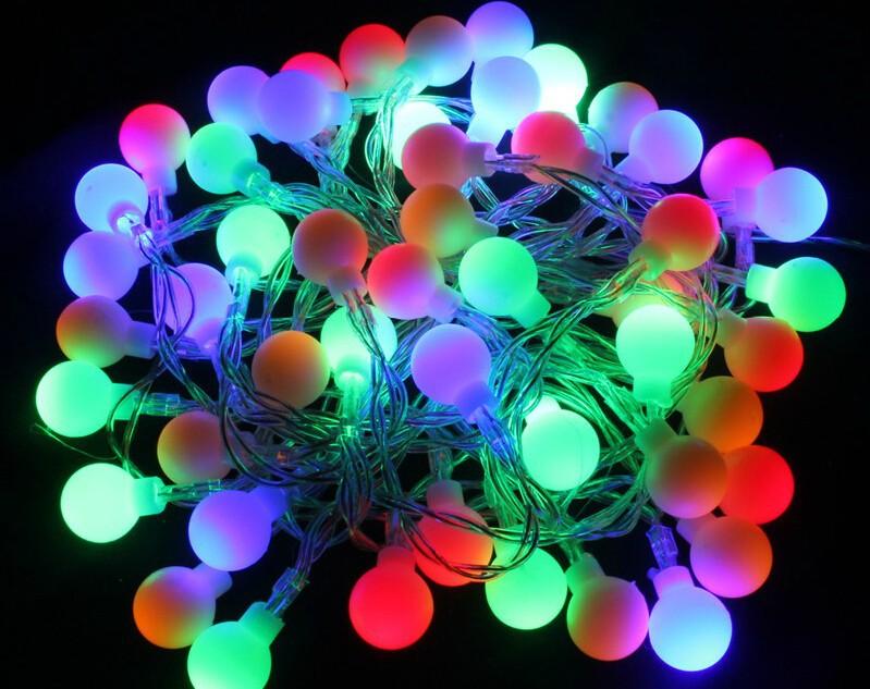 4m 3pcsAA batteries LED star flashing battery ball bright flash string lights wedding Christmas decoration stars navidad garland(China (Mainland))