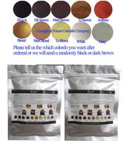 Natural Keratin Hair Building Fiber Powders Refill 25g Thinning Hair Loss Male Female Conceal Instant Black/Dark Brown 10Colors