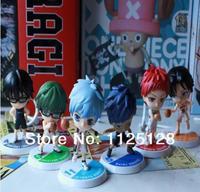 Free Shipping 6pcs/set Japanese anime Kuroko no Basuke PVC Action Figure Collection Model Toy