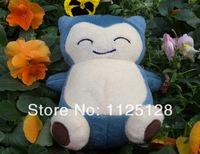 Free shipping High quality Pokemon Pikachu Soft Plush Doll Kids Children's Toys Gifts--- 15 cm Snorlax