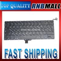 Brand NEW 13.3 RU Russian Keyboard For Macbook Pro A1278 2009 2010 2011 2012
