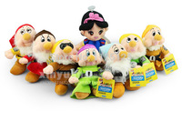 baby toys 8pcs plush snow white and the seven dwarfs doll baby toy gift for kid children interactive toys anime toys for girls