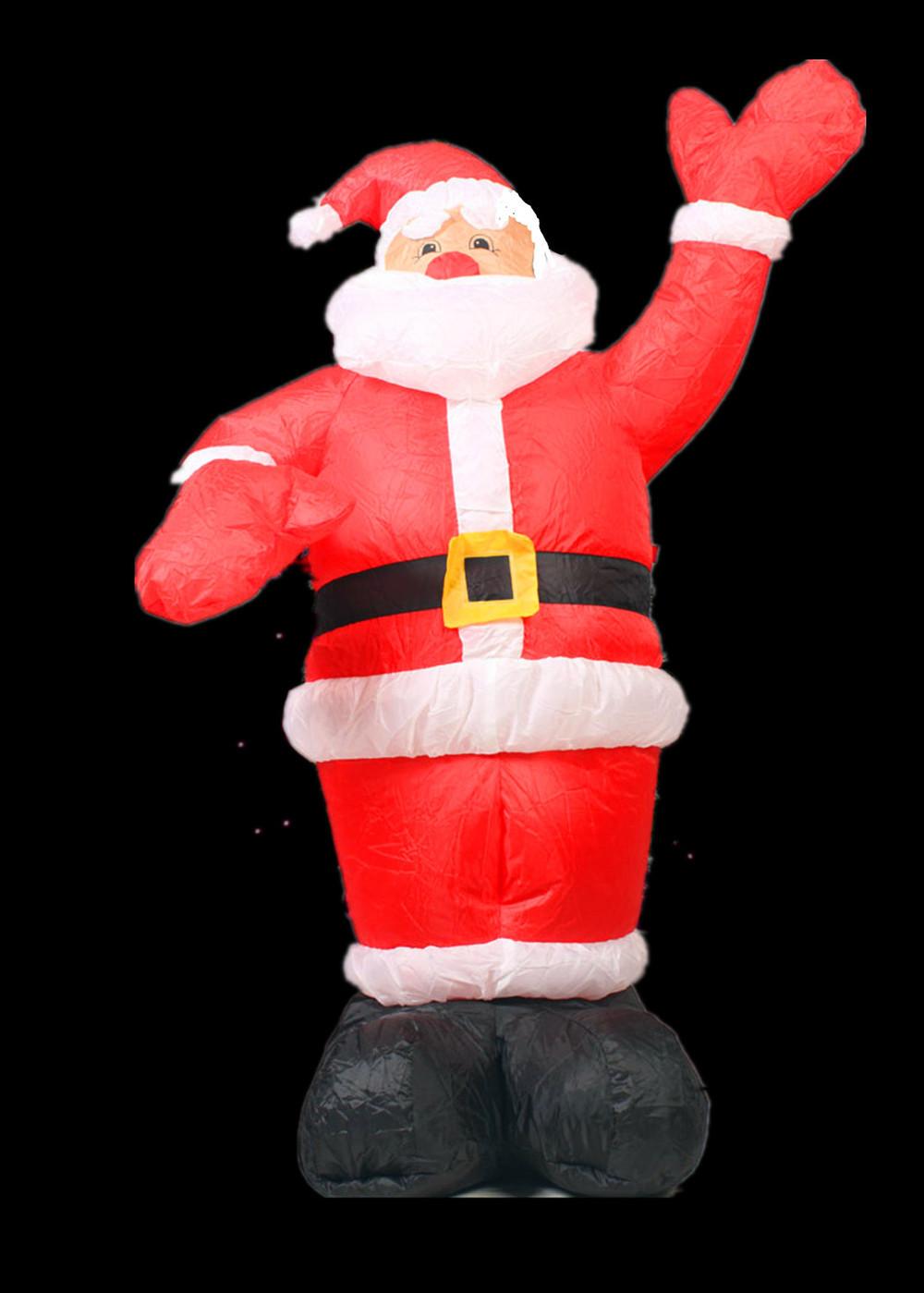 2013 new design 1.5M 5ft inflatable Christmas santa claus(China (Mainland))