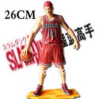 Free Shipping Japanese Anime Slam Dunk  hanamichi sakuragi 26cm PVC Action Figures Dolls Model Boys Toys Doll Kids gift