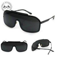 New winter sandstorm sunglasses big frame retro fashion glasses for men women sunglasses brand designer