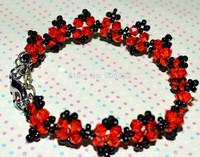 Free New Sale Shipping 2PCS/LOT 2014 Fashion Handmade Beads Bracelet For Women; Attractive Charm DIY Beads Bracelet;DIY Jewerly