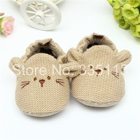 Cute 0-18 Month Toddler Baby Knit Soft Sole Crib Shoes Bootee Newborn Boy Girl Cartoon