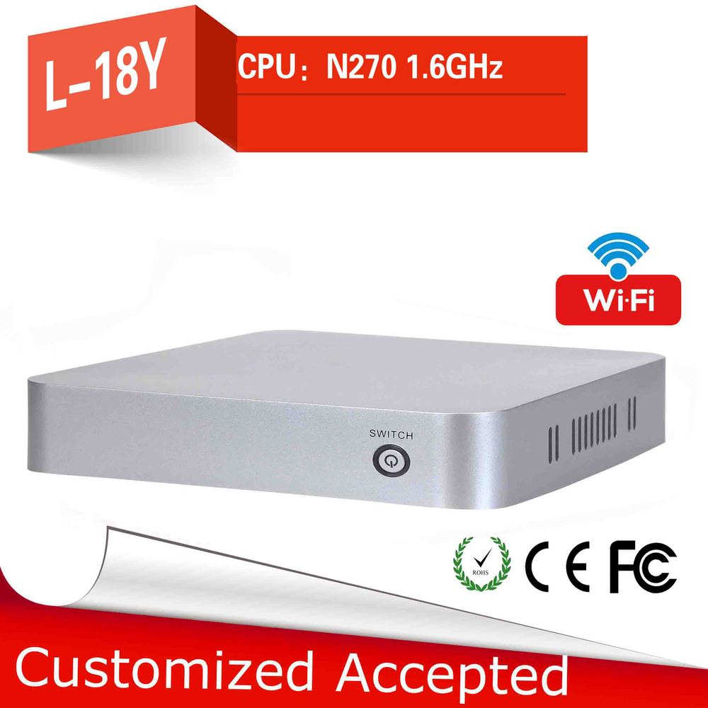Big promotion!!!L-18y micro industrial pc Mini Computer station fan pc support HD video thin client mini pc(China (Mainland))
