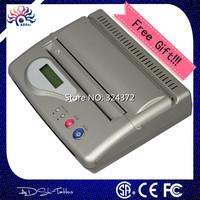 Fashion Brand Original Silver USB Tattoo Thermal Transfer Copier Printer Stencil Machine use A4 transfer paper DHL Free Shipping