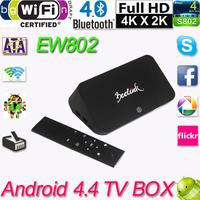 Android 4.4 Tv Receivers Set Top Box TV Box RK3288 Quad Core Smart TV Box 2GB 16GB Mali-T764 Dual Wifi XBMC