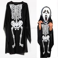 halloween boy's costumes for kids women stitch onesie skeletons clothes skull cosplay devil dress for ball dressup sv18 sv009930
