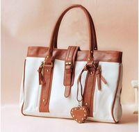 Free ship New women bag messenger bag brand designer PU leather patchwork handbag fashion tassel women should bag shopping bag