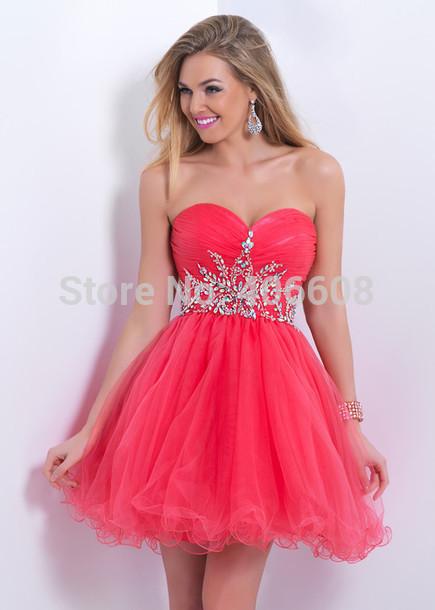 Vestidos De Color Coral Para Promocion Imagui