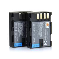 2PCS DSTE DMW-BLF19E Li-ion Battery compatible for Panasonic Lumix DMC-GH3GK, DMC-GH3H, DMC-GH3HGK, DMC-GH3KBODY, DMC-GH4H