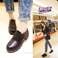 Retro with Sen female Japanese Harajuku style doll shoes School shoes Women's shoes British wind
