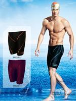 Yingfa 9402(B)  FINA approval Sharkskin chlorine resistant men training swimming trunks Jammers shorts men swimwear tight pants