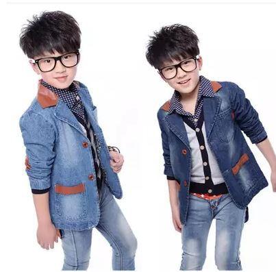 Wholesale-boys Trench Coat Kids Hoody Cardigan Kids Khaki Jackets