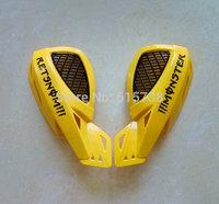 """7/8"""" Dirt Bike Dirtbike ATV Motorcycle Brush Bar Hand Guards Handguard Cover Universal Dirtbike ATV Handguard yellow"""
