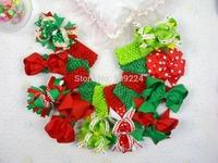 10pcs/lot baby girl christmas headbands Children headbands girl hair bows